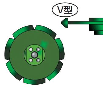 ツボ万 目地切 NEO-88V(88×10×7×M10ネジ) NEO-88×10.0(V) 11077