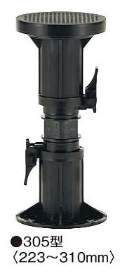 フクビ 屋外用プラ木レン マルチポスト MPST305(高さ調整範囲223~310mm)【1ケース/30個入】