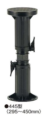 正規激安 フクビ 屋外用プラ木レン マルチポスト MPST445(高さ調整範囲295~450mm)【1ケース/30個入】:ケンチクボーイ-木材・建築資材・設備