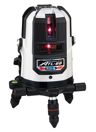 KDS レーザー墨出し器 高輝度スーパーレイ ATL-66A(本体のみ)【受光器・三脚は別売】