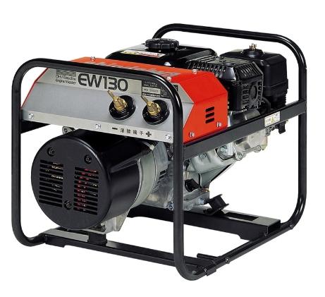 新ダイワ エンジン溶接機 EW130(溶接専用機/エンジンスターター機能なし)【※メーカー直送品のため代金引換便はご利用になれません】