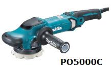 マキタ電動工具 125mmランダムオービットポリッシャー PO5000C