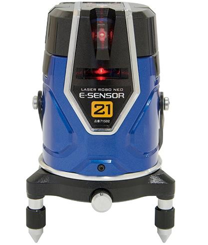 シンワ測定 レーザー墨出し器 レーザーロボNEO レッド E-SENSOR 21 71502【受光器・三脚は別売】