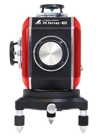 シンワ測定 シンワ測定 レーザー墨出し器 レーザーロボXline-E レッド フルライン・地墨クロス 71609【受光器・三脚は別売】
