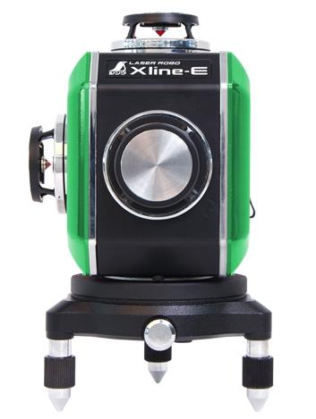 シンワ測定 レーザー墨出し器 レーザーロボXline-E グリーン フルライン・地墨クロス 71610【受光器・三脚は別売】