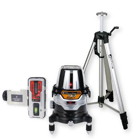 シンワ測定 レーザー墨出し器 レーザーロボNeo21AR BRIGHT 78219【受光器・三脚セット】