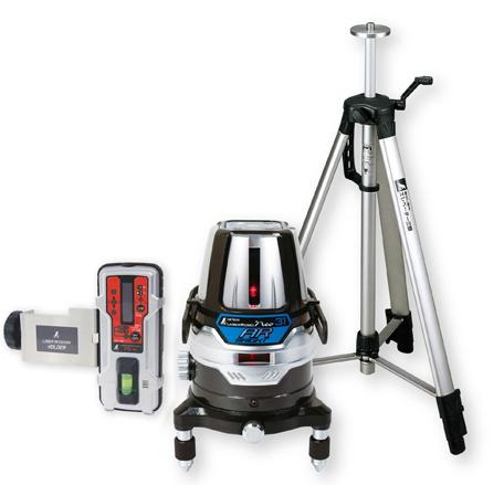 シンワ測定 レーザー墨出し器 レーザーロボNeo31AR BRIGHT 78243【受光器・三脚セット】