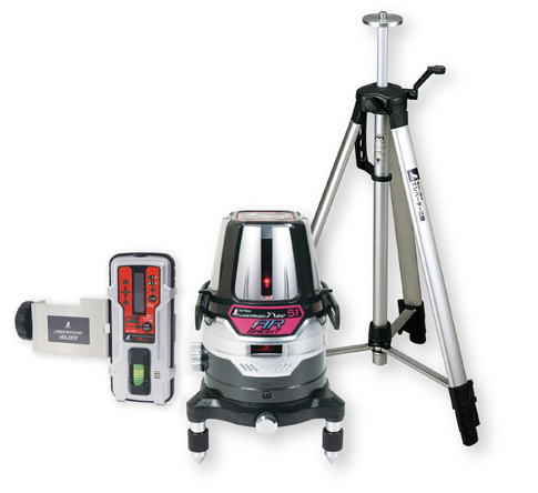 シンワ測定 レーザー墨出し器 レーザーロボNeo51AR BRIGHT 78244【受光器・三脚セット】