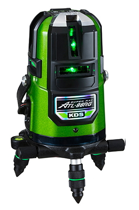KDS グリーンレーザー墨出し器 KDS ジンバル式リアルグリーンレーザー墨出し器 ATL-96RG(本体のみ)【受光器・三脚は別売】