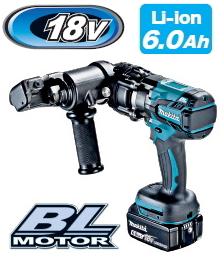 マキタ電動工具 18V充電式全ネジカッター(油圧式) SC121DRG【BL1860B×1個付】 W1/2対応