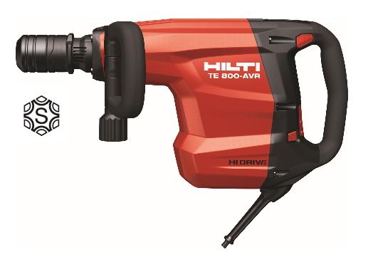 超美品の HILTI(ヒルティ) 電動コンクリートブレーカー TE800-AVR/100Vコンボ(TE-Sシャンク):ケンチクボーイ-DIY・工具
