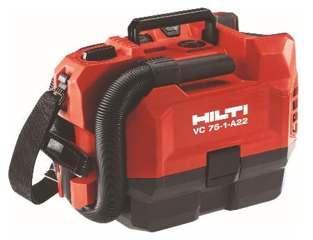 2019新作モデル HILTI(ヒルティ) 22V充電式バキュームクリーナー(乾式) 集じん機 VC75-1-A22 P2/5.2Ahコンボ(5.2Ahバッテリー2個付):ケンチクボーイ-DIY・工具