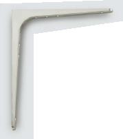 スガツネ LAMP ステンレス棚受BT型 BT-380 H378×318 120-030-083【1ケース/10本】