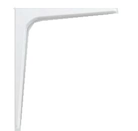 スガツネ LAMP 鋼製棚受BTK型 BTK-120W ホワイト 公式 H120×L100 120-030-094 店内全品対象 1ケース 20本