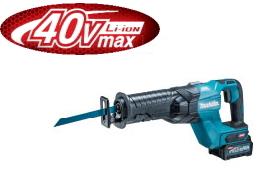 マキタ電動工具 36V(40max)充電式レシプロソー JR001GRDX【BL4025×2個・充電器・ケース付】