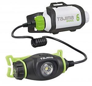 タジマツール ペタLEDヘッドライトU303セット2【300ルーメン】 ブースト機能搭載 LE-U303-SP2【5700mAh充電池セット】