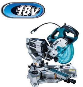 マキタ電動工具 18V充電式スライドマルノコ【165mm】  LS610DRG【BL1860B×1個・充電器付】