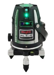 マイト 高輝度グリーンレーザー墨出し器 MGL-411GP(本体+受光器)※三脚は別売です