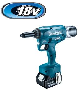 マキタ電動工具 18V充電式リベッター RV150DRG【バッテリーBL1860B×1個・充電器・ケース付】