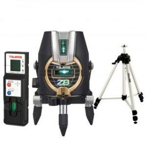 タジマツール ブルーグリーンレーザー墨出し器 ZERO BLUE-KY(乾電池タイプ) ZEROB-KYSET(本体+受光器+三脚)