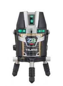 タジマツール ブルーグリーンレーザー墨出し器 ZERO BLUEリチウム-KJC ZEROBL-KJC(本体のみ)【受光器・三脚は別売】
