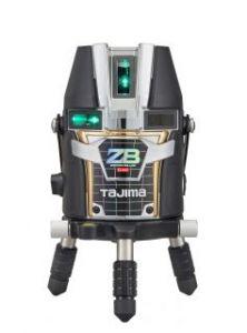 タジマツール ブルーグリーンレーザー墨出し器 ZERO BLUEリチウム-KJY ZEROBL-KJY(本体のみ)【受光器・三脚は別売】