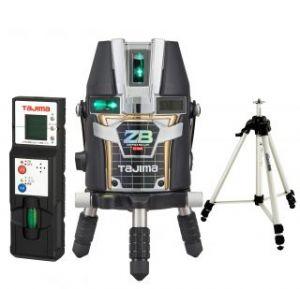 タジマツール ブルーグリーンレーザー墨出し器 ZERO BLUEリチウム-KJY ZEROBL-KJYSET(本体+受光器+三脚)