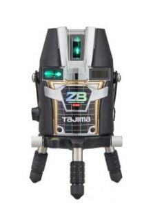 タジマツール ブルーグリーンレーザー墨出し器 ZERO BLUEリチウム-KY ZEROBL-KY(本体のみ)【受光器・三脚ば別売】