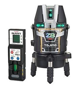 タジマツール ブルーグリーンレーザー墨出し器 NAVI ZERO BLUEリチウム-KJC ZEROBLN-KJC(本体+NAVI受光器)【三脚は別売】