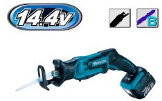 オンラインショッピング マキタ正規販売店 マキタ電動工具 14.4V充電式レシプロソー JR144DRF 充電器 新入荷 流行 ケース付 BL1430B×1個