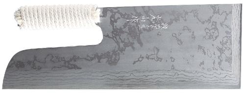 【蕎麦打ち道具】積層別打麺切包丁(布ケース付)300mm A-1020