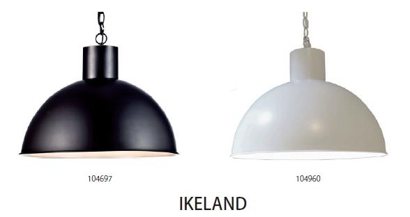 ELUX(エルックス) MARKSROJD(マークスロイド) IKELAND(イケランド) 104960 ホワイト ※電球なし【ペンダントライト】