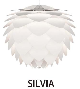 ELUX(エルックス) VITA(ヴィータ) SILVIA(シルヴィア) 02007-WH/BK-3 3灯タイプ※電球なし【ペンダントライト】【コード色ご選択下さい】