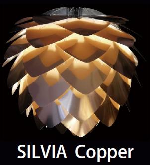 ELUX(エルックス) VITA(ヴィータ) SILVIA Copper(シルヴィアコパー) 02030-WH/BK-3 3灯タイプ※電球なし 【ペンダントライト】【コード色ご選択下さい】