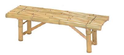 タカショーエクステリア 白竹縁台 B-9(組立式)【※受注生産/納期約2週間】【※代金引換便ご利用できません】