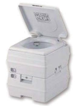 イーストアイ ビザ・ポータブルトイレ 水洗トイレ V24L タンク量23L