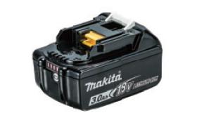 マキタ電動工具 18V スライド式バッテリー 【3.0Ah】 BL1830B A-60442 [残量表示機能付]