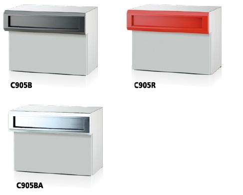 SONIA コーワソニア ボックス一体型口金ポスト C905 静音ダイヤル錠 前入後出 ベーシックカラー