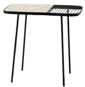 杉田エース 品質検査済 Bloomingville 安全 テラゾーサイドテーブル 955-853