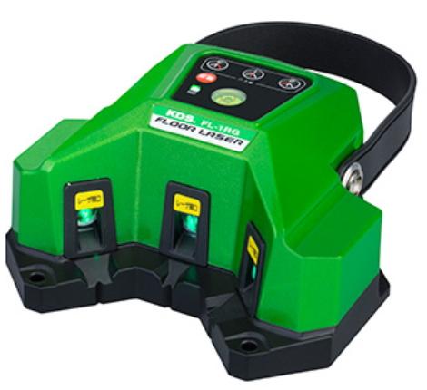 床や壁のタイル貼りに KDS フロアレーザー 送料無料限定セール中 FL-1RG グリーン 新作販売