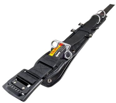 動きやすいフラット形状 タジマツール ワークポジショニング用 胴当てベルト 奉呈 フラットD2 今だけ限定15%OFFクーポン発行中 WFXD2-ABL 黒アルミL