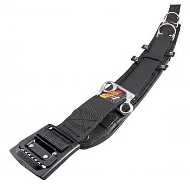 タジマツール ワークポジショニング用 胴当てベルト カーブD2 黒アルミ L WCXD2-ABCL