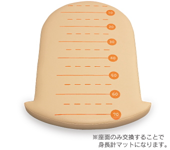 アビーロード オムツっ子NR用身長計マット C-200SM