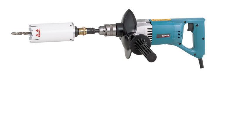 マキタ電動工具 ダイヤコア振動ドリル 8406W(マルチサイディングコアビット65mm付)