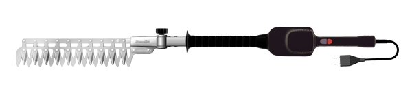 アルスコーポレーション 高枝電動バリカンDKRチルト1.0m 本体セット DKR-0330T-BK