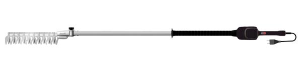 アルスコーポレーション 高枝電動バリカンDKRチルト1.7m 本体セット DKR-1030T-BK【※メーカー直送品のため代金引換便はご利用できません】