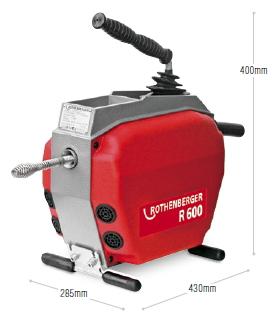 アサダ ドレンクリーナーR-600 Φ16mm(ワイヤ仕様) R72601【※メーカー直送品のため代金引換便はご利用になれません】