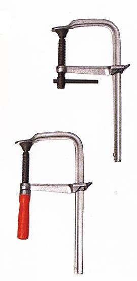 バクマ ワンタッチスーパークランプ LSW-400 400×120mm 木柄 (4丁入)
