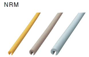 大建プラスチックス 溝型ガード NRM16 【7本/1セット】 A12×B17×C29×D10×L1000 【色選択あり】