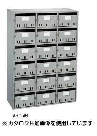 大建プラスチックス BL型集合郵便受箱(SH型) 18戸用 SH-18N